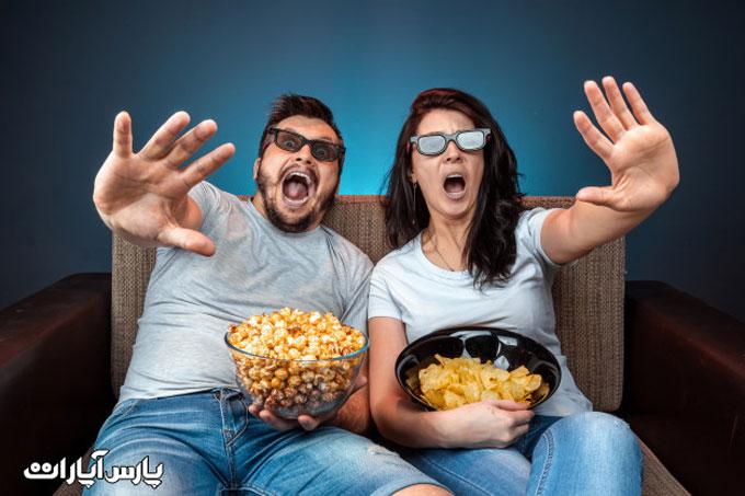تماشای فیلم سه بعدی با تلوزیون